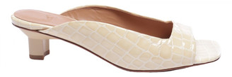 LOQ Beige Leather Sandals