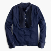 J.Crew Tuxedo-inspired long-sleeve T-shirt