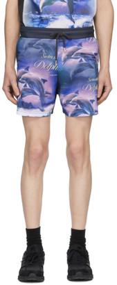 Han Kjobenhavn Multicolor Swim With Dolphins Swim Shorts