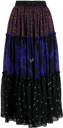 Diesel Multi-Panel Design Skirt