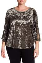Blu Pepper Very Velvet Top (Plus Size)