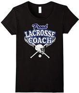 LaCrosse Coach Shirt: Proud Coach Of Players T-Shirt--