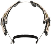 Gucci crystal-embellished hand hairband