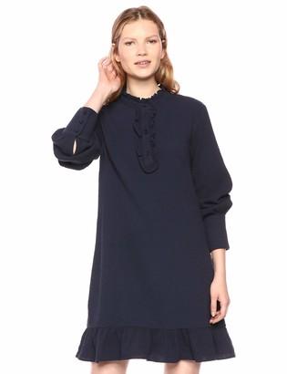 The Fifth Label Women's Radiate Long Sleeve Ruffle Shirt Dress