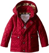 Burberry Kids - Quilted A-Line Jacket Girl's Coat
