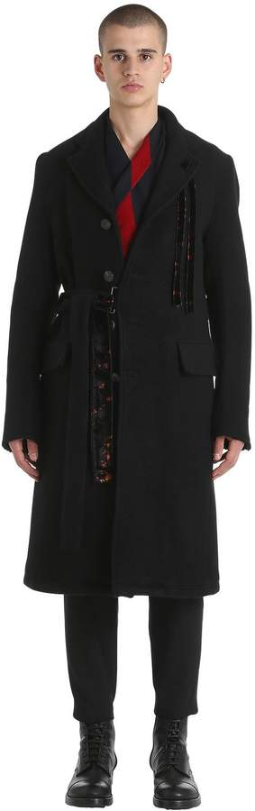 Damir Doma Heavy Double Wool & Mohair Coat