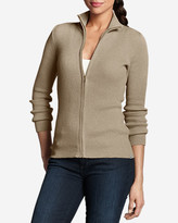 Eddie Bauer Women's Medina Zip Cardigan Sweater