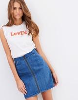 Levi's Orange Tab Skirt