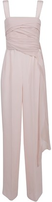 Max Mara Pink Technical Fabric Jumpsuit