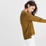 Madewell Brownstone Side-Button Sweater