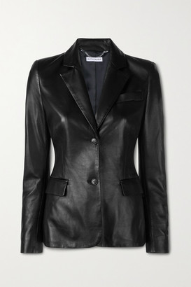 Altuzarra Egan Leather Blazer - Black