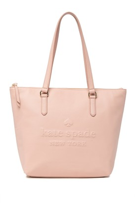 Kate Spade penny leather tote bag