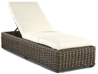 Lane Venture South Hampton Chaise - Natural Sunbrella