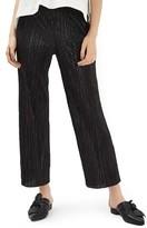 Topshop Petite Women's Plisse Trousers