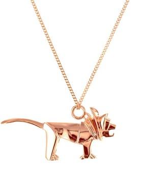 Origami Jewellery Mini Lion Rose Gold