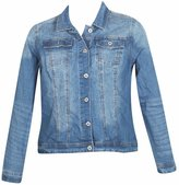 Revolt Plus Size Denver Denim Jacket -Size: Color: