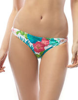 CoCo Reef Skinny Dip Floral Print Swim Hipster