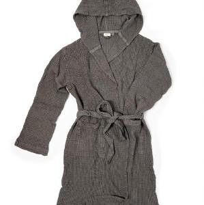 Fil Blanc - Grey Bath Robe - S/M / Grey - Grey