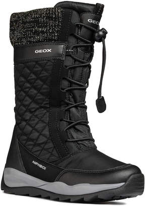 Geox Quilted Nylon Snow Boots, Toddler/Kids