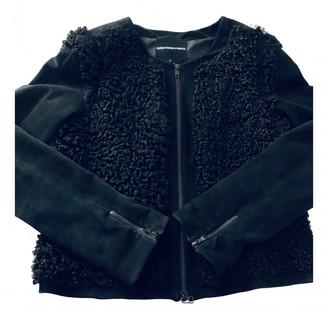 American Retro Black Astrakhan Jackets