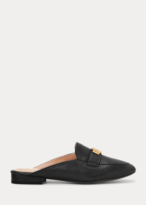 Ralph Lauren Leather Slip-On Loafer