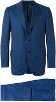 Kiton formal suit - men - Cupro/Virgin Wool - 48