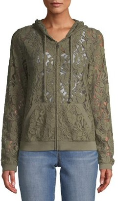 No Boundaries Juniors' Lace Jacket