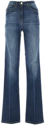 Elisabetta Franchi Wide-Leg Jeans