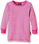 Maxomorra Unisex Baby BASI-M131 Top LS Striped Striped T-Shirt