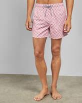 Ted Baker CEDRIC Geo print swim shorts