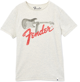 Lucky Brand White 'Fender' Rock On Tee - Boys
