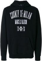 Marcelo Burlon County of Milan Jak hooded sweatshirt