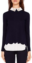 Ted Baker Suzaine Layered-Look Sweater