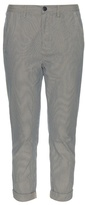 The Great The Mister Slouch striped-cotton trousers