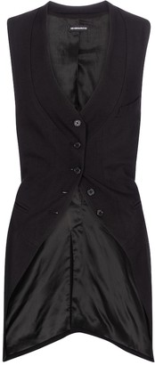 Ann Demeulemeester Wool and silk vest