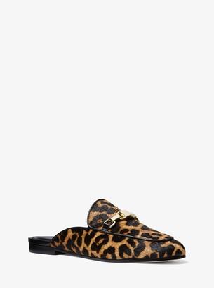MICHAEL Michael Kors Charlton Leopard Calf Hair Mule