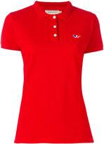MAISON KITSUNÉ logo polo shirt - women - Cotton - S