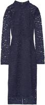 Rebecca Vallance Corded lace midi dress