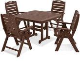 Polywood 5-pc. Nautical Dining Set - Outdoor
