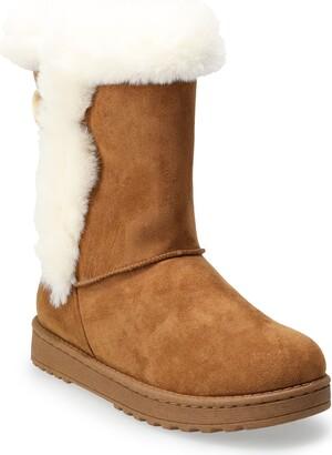 So Abigail Women's Faux-Fur Winter Boots