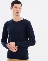 John Smedley Crew Sea Island Cotton Sweater