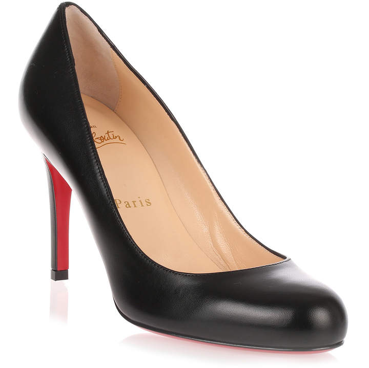 Christian Louboutin Simple pump 85 black leather