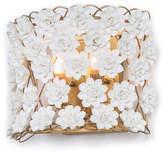 Regina-Andrew Design Alice Sconce - Gold Leaf/White - Regina Andrew Design