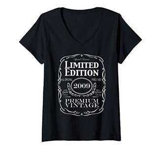 Womens 11 Year Old Birthday Gift - Born in 2009 - Limited Edition V-Neck T-Shirt