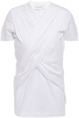 Marques Almeida Crossover Cotton-jersey T-shirt