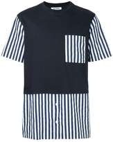 Sunnei striped details T-shirt