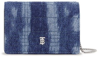 Burberry Denim Chain Card Holder