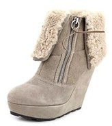 Ash Folk Women Round Toe Suede Ankle Boot.