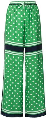 P.A.R.O.S.H. polka-dot trousers