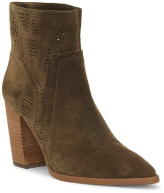 Vince Camuto Catheryna Leather Bootie